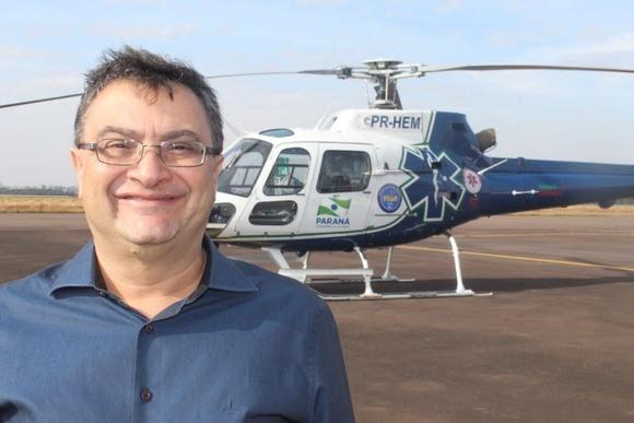 Michele Caputo diz que Aeromédico ajudou na redução de mortes por acidentes de trânsito