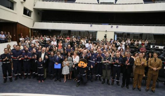 Assembleia Legislativa comemora os 15 anos do SAMU Curitiba