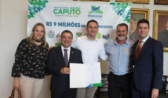 Deputado Michele Caputo garante equipamentos agroindustriais para Nova Tebas