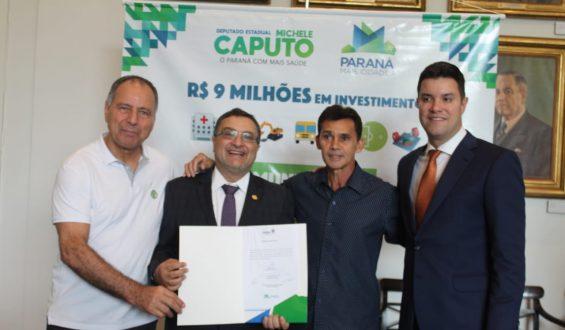 Deputado Michele Caputo garante academia ao ar livre para Nova Londrina