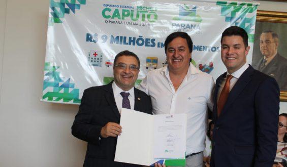 Deputado Michele Caputo garante  ampliação de unidade de saúde para Mauá da Serra