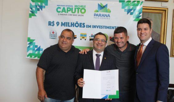 Deputado Michele Caputo garante carro e van para a cidade de Paranaguá