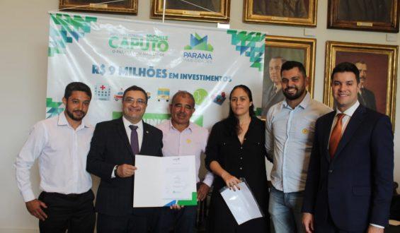 Deputado Caputo garante van para Apae de Ribeirão do Pinhal