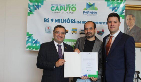 Deputado Michele Caputo garante van para a cidade de Piraquara