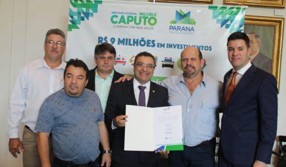 Deputado Michele Caputo garante carro para a cidade de Porto Rico