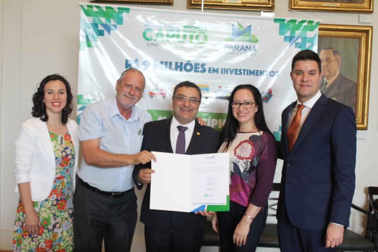 Deputado Michele Caputo garante van para saúde de Rio Negro