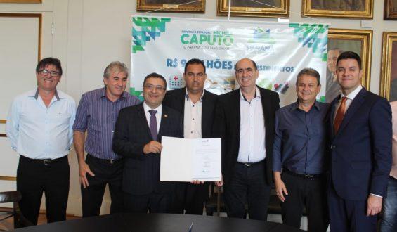 Deputado Michele Caputo garante ambulância para Santa Mariana