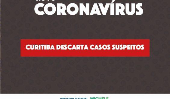 Curitiba descarta casos suspeitos de novo Coronavírus