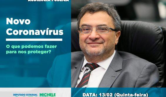 Audiência pública: mitos e verdades sobre o novo Coronavírus