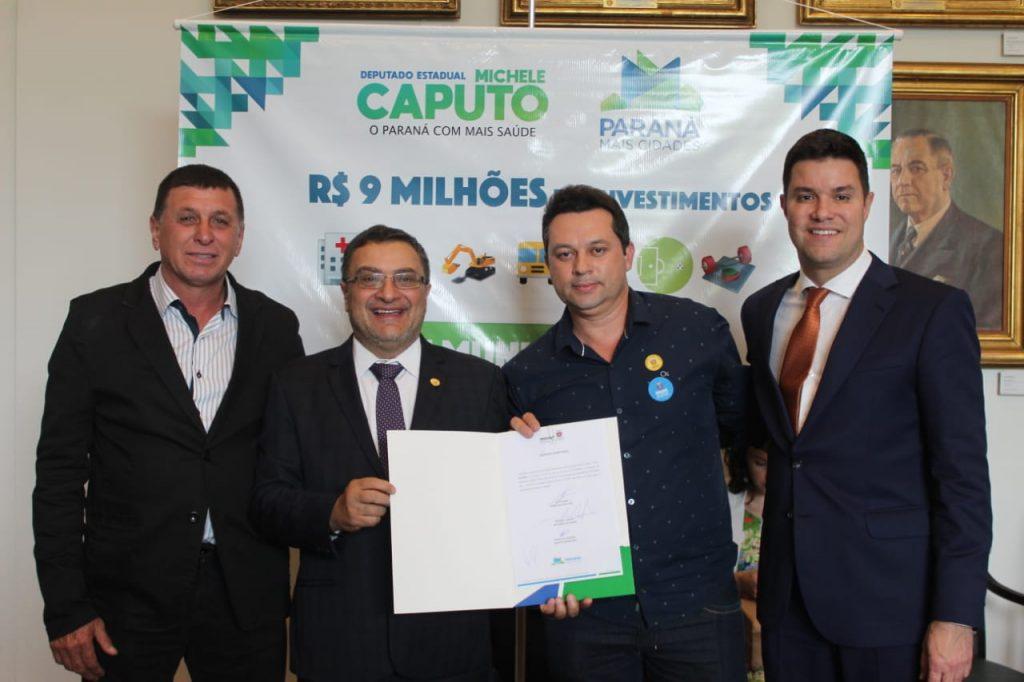 Deputado Caputo indica recurso para aquisição de automóvel para a Saúde de Guapirama