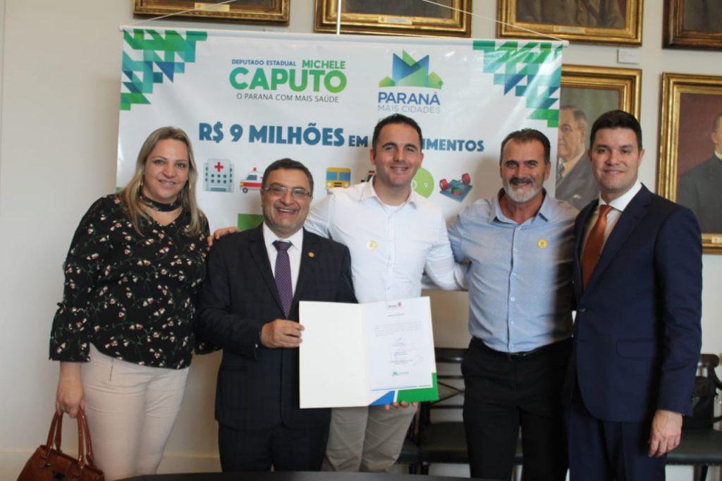 Indicação de Michele Caputo viabiliza recurso para maquinários agrícolas em Nova Tebas
