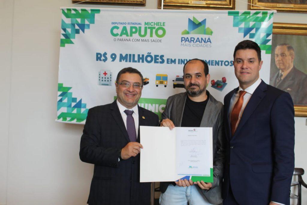 Piraquara recebe recurso para nova van de transporte sanitário viabilizado por Caputo