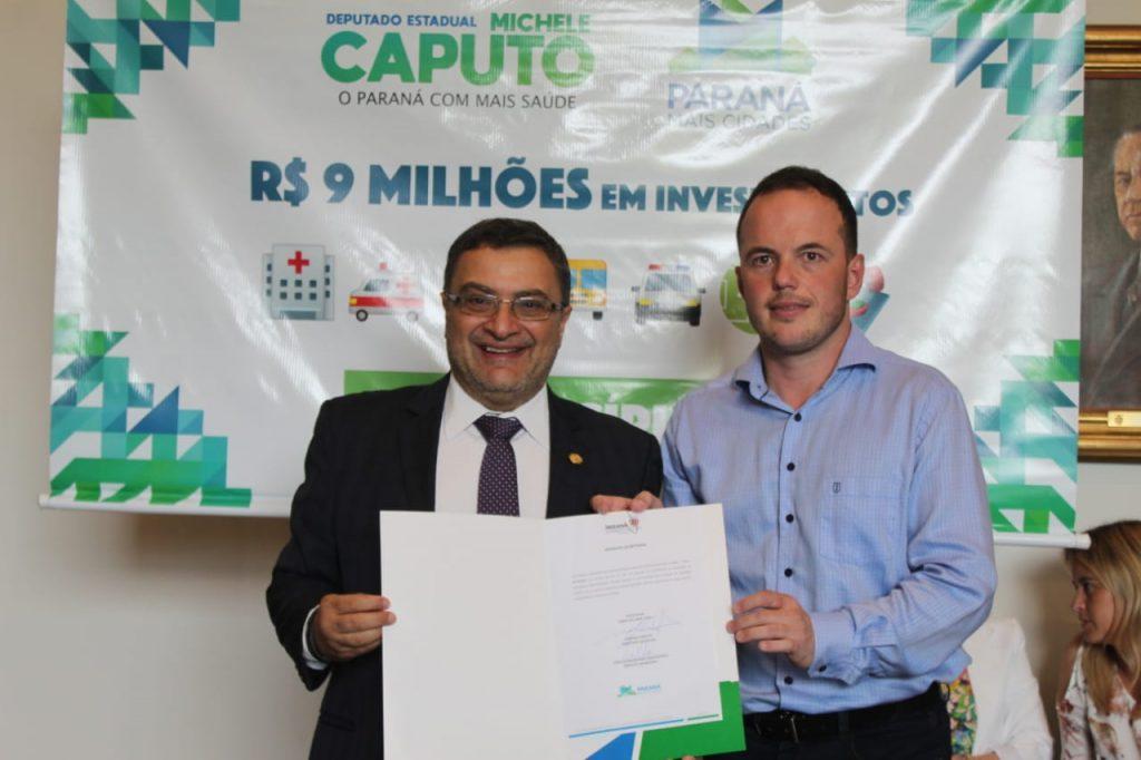 Antônio Olinto ganha nova academia ao ar livre com recurso viabilizado por Michele Caputo