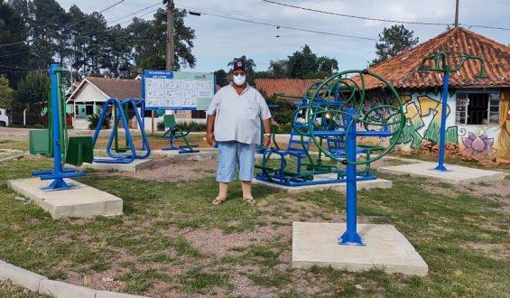 Caputo viabiliza academia ao ar livre na Aldeia Kakané Porã, em Curitiba