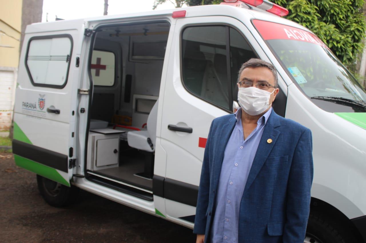 Michele Caputo viabiliza nova ambulância para o Samu de Curitiba